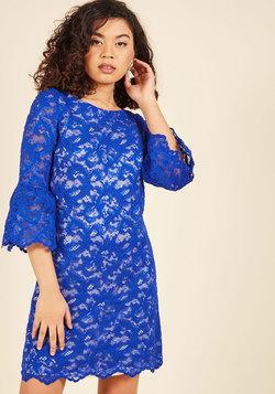 Stylish Discussion Lace Dress