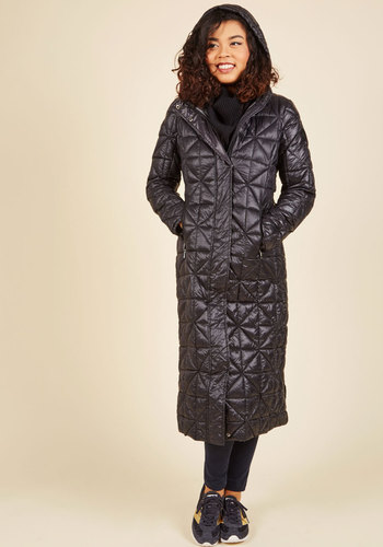 Sporting in the Snowflakes Coat