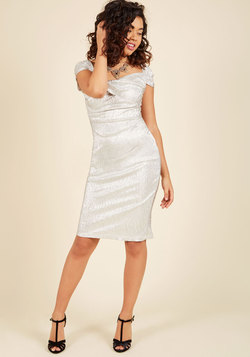 Brilliant New Beginnings Sheath Dress
