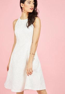 Elegant Evolution A-Line Dress in Ivory