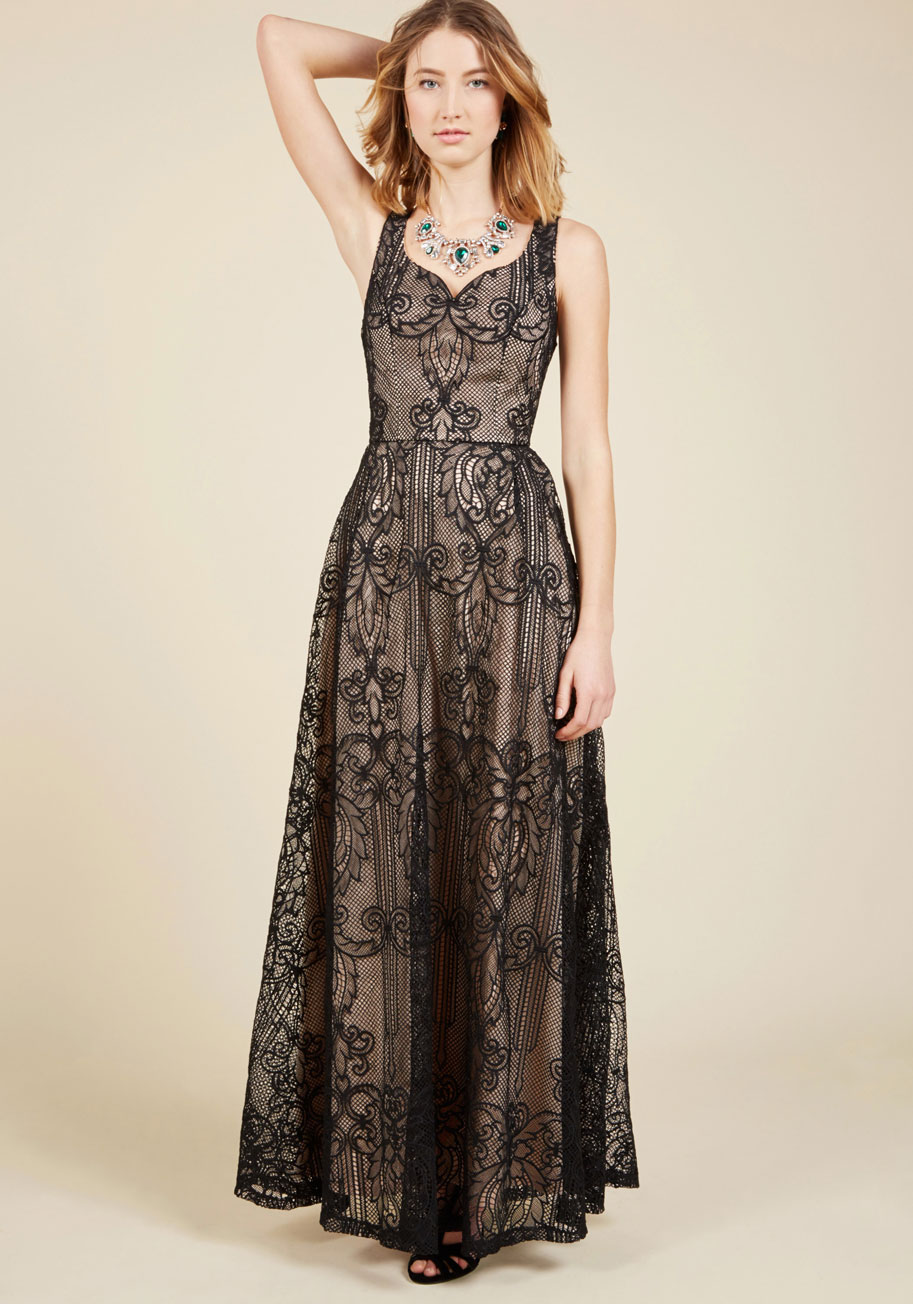 Faith In Flawlessness Maxi Dress | Mod Retro Vintage Dresses | ModCloth.com