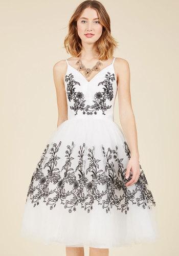 Vintage Evening Dresses and Formal Evening Gowns Resplendent Reverie Midi Dress $149.99 AT vintagedancer.com