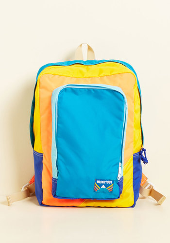 Such a Rad Influence Backpack - Blue, Multi, Solid, Casual, Travel, Neon, Winter, Best, Festival, Scholastic/Collegiate, Beach/Resort, Spring