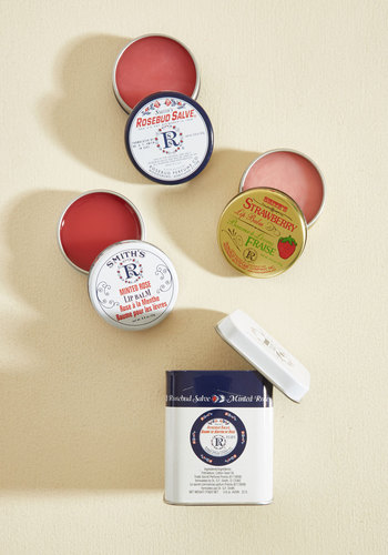 Salve the Day Lip Balm Set in Lavish - Blue, White, Casual, Vintage Inspired, Spring, Better, White, Variation, Gals, Store 1