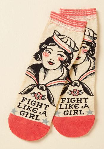 Mighty Words Socks