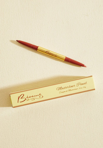 Rip-Roaring Radiance Lip Liner Duo in Rose and Petal by Besame Cosmetics - Red, Gold, Solid, Pinup, Vintage Inspired, Spring, Better, Valentine's