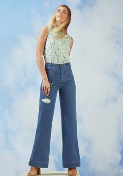 A Nudge of Nostalgia Jeans