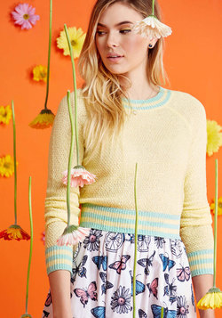 Midtown Mixer Sweater in Buttercup