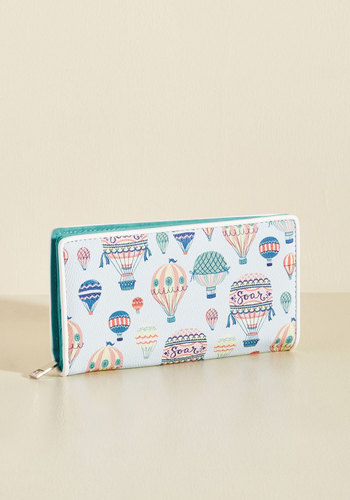 Quirks Hard for the Money Wallet - Multi, Casual, Quirky, Spring, Better