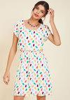 Oh My Gosh A-Line Dress in Gummy Bears