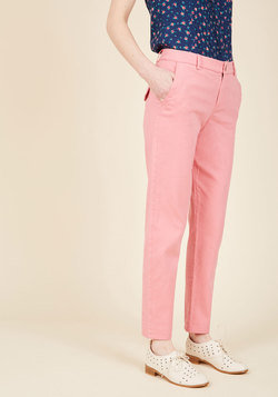 Ease of Versatility Pants in Carnation
