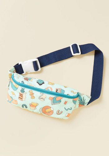 Sharing Is Carrying Fanny Pack by Mokuyobi - Multi, Novelty Print, Fruits, Quirky, Food, Winter, Good, Beach/Resort, Spring