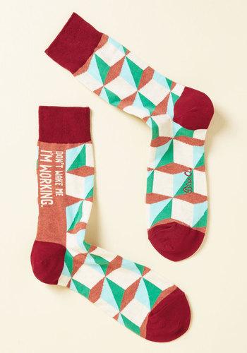 Slumber-One Priority Men's Socks