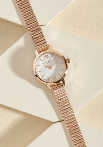 Petite, Repeat Watch by Olivia Burton - Luxe Gifts, Gold