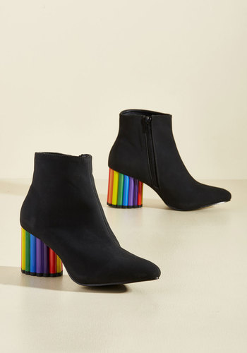 Vintage Style Boots For Crayon Out Loud Bootie $129.99 AT vintagedancer.com