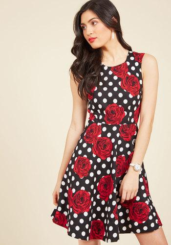 Pattern Flattery A-Line Dress