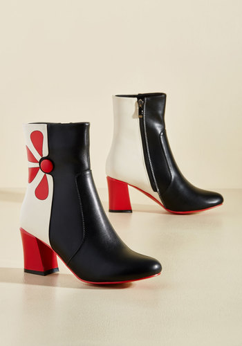 Vintage Style Boots Mods and Ends Boot $119.99 AT vintagedancer.com