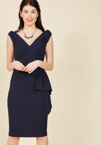 1960s Style Dresses- Retro Inspired Fashion I Saw the Sigh Sheath Dress $79.99 AT vintagedancer.com