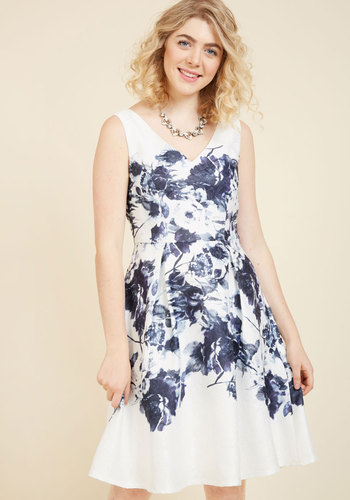 Exceptionally Chic Floral Dress