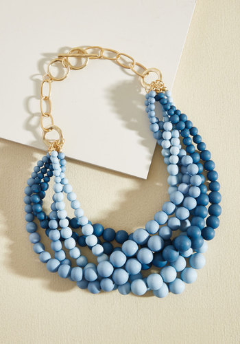 Burst Your Bauble Necklace in Sky