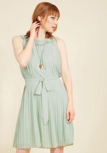 Famously Flirty A-Line Dress
