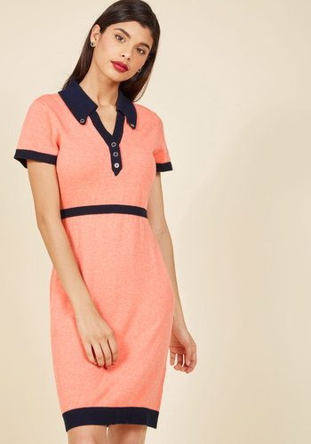 1960s Style Dresses- Retro Inspired Fashion Catalogued Charm Knit Dress $74.99 AT vintagedancer.com