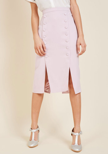 Retro Skirts: Vintage, Pencil, Circle, & Plus Sizes Iconic Executive Pencil Skirt $99.99 AT vintagedancer.com
