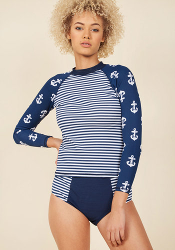 Paddleboard Tutorial Rash Guard available from ModCloth, Click for more Details