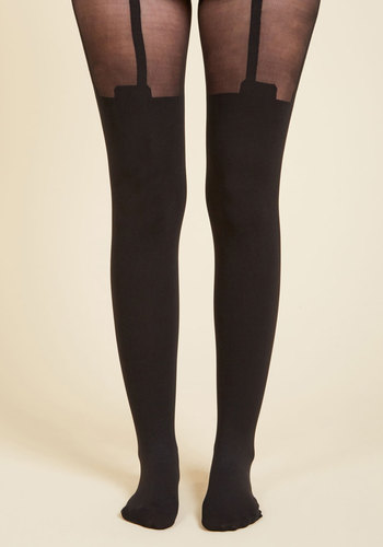 1930s Stockings, Nylons, Tights & Socks Suspends Thriller Tights $24.99 AT vintagedancer.com