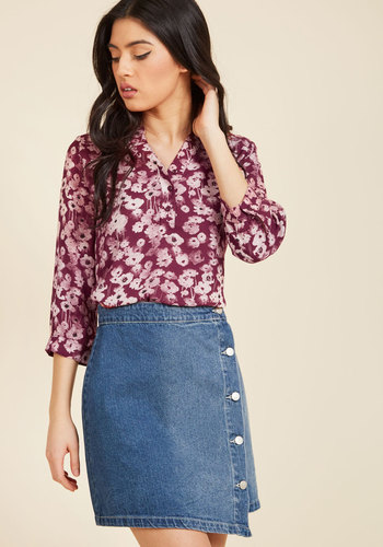 Waiting for My Prints Floral Top in Blooms