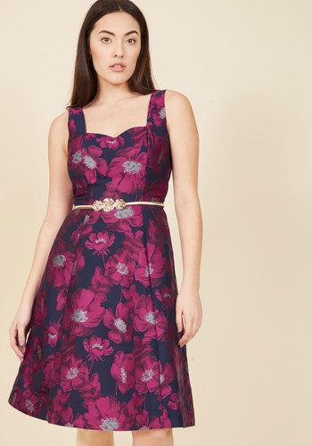 1960s Style Formal Dresses Guided by Grandeur A-Line Dress $139.99 AT vintagedancer.com