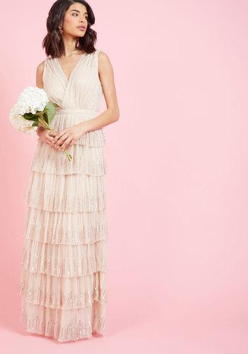 Vintage Inspired Wedding Dresses Celebrating Innovation Maxi Dress $200.00 AT vintagedancer.com
