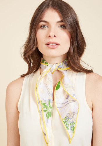 1960s Inspired Fashion: Recreate the Look Metropolitan Moxie Scarf in Conservatory $39.99 AT vintagedancer.com