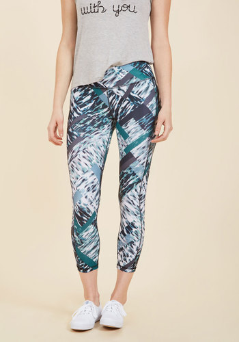 Sunny Day Sprints Yoga Pants in L