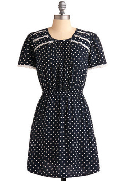 Just Browsing Dress in Dotty